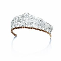 A diamond diadem