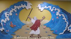 moses crafts for vbs - Google Search These crafts would look lovely on a wall in Sunday School.   #biblestoryart