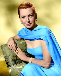 Golden Age Of Hollywood, Hollywood Glamour, Classic Hollywood, Old Hollywood Actresses, Deborah Kerr, Celebs, Celebrities, Movie Stars, Movie Tv