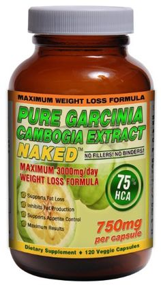 75% HCA GARCINIA CAMBOGIA NAKED™ 3000mg/day - 120ct - 750mg/capsule | Maximum Daily Dosage for Weight Loss. Strongest Garcinia Cambogia with 75% HCA! SuppleSense, LLC,http://www.amazon.com/dp/B00ECY9E34/ref=cm_sw_r_pi_dp_JuYstb0YH21V2XW1