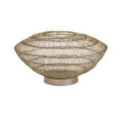 wire vessels   Cadence Wire Art Low Vessel: Home & Kitchen