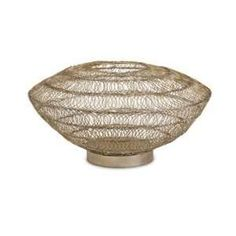 wire vessels | Cadence Wire Art Low Vessel: Home & Kitchen