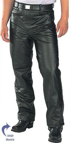 Men Women Motorbike Motorcycle Biker Trousers Denim Pants Jeans With Protective Lining,S,Black