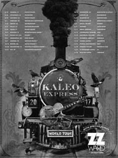 http://www.officialkaleo.com/news/kaleo-express-fall-2017-tour-announcement-23201