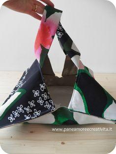 Tutorial: come fare un porta torta da picnic - Pane, Amore e Creatività