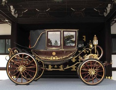 Majesty the Emperor's vehicle Photography Kinichi Maeda Vintage Cars, Antique Cars, Driving Miss Daisy, Horse And Buggy, Covered Wagon, Horse Carriage, Horse Drawn, Classic Cars, Gothic