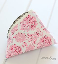 Triangle Pouch - Step 8