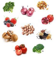 Power Foods // Super Foods - eat at least one a day (via Joel Fuhrman, M.D.) on www.letloveguideus.com