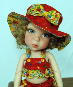 Bo Bergemann Yo-Sd BJD Emmie Full Set w/ Artist face-up