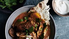 Indian-Spiced Chicken with Tomato and Cream Recipe | Bon Appetit