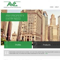 A new site launch for Adams Valuation, Chicago's trusted real estate appraisal and consulting firm. With decades of experience they have experienced all kinds of economic markets and have appraised practically every type of property. #realestate #appraisal #chicago #webdesign