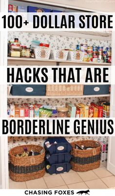 Dollar store hacks that are perfect for DIY projects. These dollar store crafts . - Dollar store hacks that are perfect for DIY projects. These dollar store crafts will really help yo - Dollar Store Hacks, Astuces Dollar Store, Thrift Store Crafts, Dollar Stores, Diy Craft Projects, Diy Home Crafts, Craft Ideas, Creative Crafts, Wood Projects