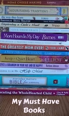 10 or so books that inspire me from Our Abundant Blessings