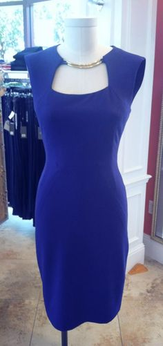 7a29eae9e4 New BCBG Clara dress in a gorgeous color with gold detail on the neckline