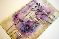 Donna Downey Inspiration Week Day 6: more beautiful canvas art pages