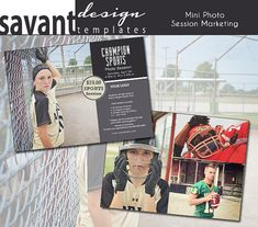 Marketing Photography Template Card  Sports1 by SavantDesign, $10.00