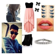 """""""Date with zayn"""" by i-love-niall-horan-4457 ❤ liked on Polyvore featuring interior, interiors, interior design, home, home decor, interior decorating, Betsey Johnson and NARS Cosmetics"""