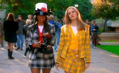 Cher and Dionne, Clueless Cher Clueless, Clueless Outfits, Dionne Clueless, Clueless Style, Preppy Mode, Preppy Style, Preppy Fashion, Girl Style, Cher And Dionne