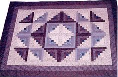 Quilting: Log Cabin quilt 2003