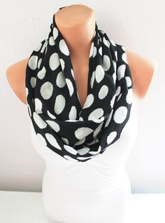 Infinity Scarf Loop Scarf Circle Scarf Cowl Scarf by fairstore, $18.00
