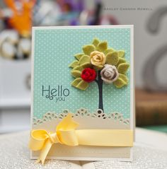 A New Design blog » Paper Crafting Ideas by Ashley Cannon Newell