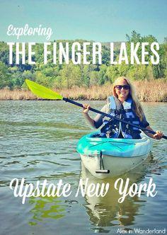 "Discover Hammondsport, aka ""America's Coolest Small Town,"" Keuka Lake, and the wine region surrounding Upstate New York's Finger Lakes.   Alex in Wanderland"