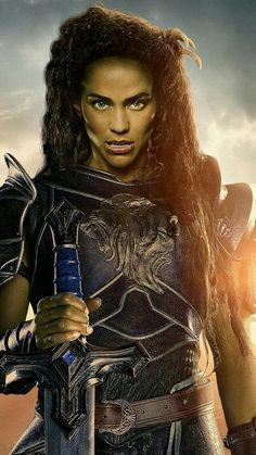 Warcraft, garona, Paula Patton, Best Movies of 2016 <<< loved the WarCraft movie soo much Fantasy Movies, High Fantasy, Fantasy Rpg, Fantasy Characters, Garona Warcraft, Warcraft 2016, Paladin, Female Half Orc, World Of Warcraft Movie