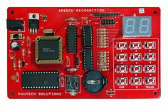 HM2007 - Speech-Recognition-kit.  Features: 2 No's of 7-Segment Display (To Display Voice Recognize Commands). 4x3 Matrix Key Pads (Train Voice Commands). - See more at: https://www.pantechsolutions.net/project-kits/accessory-boards/speech-recognition#sthash.meYwxUbu.dpuf