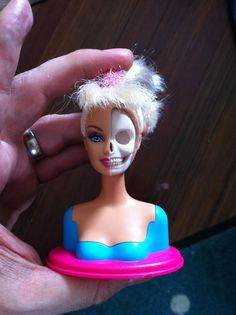 """Barbie Skull"" By Jason Freeny"