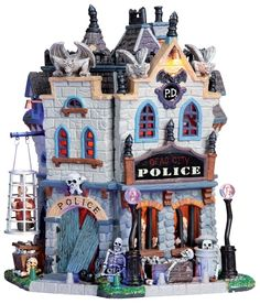 Dead City Police Station by Lemax Collections