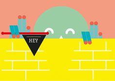 Hey! by Alberto Rodríguez, via Behance