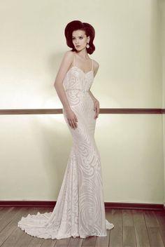 Simple But Gracious   Inbal Raviv Bridal Collection 2014