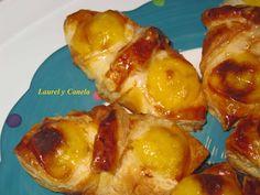 Laurel y Canela: Hojaldritos de crema pastelera express!!!