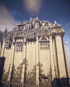 Marble Castle using texturepack