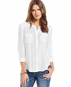 Lucky Brand Jeans Blouse
