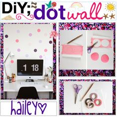 DiY;; DOT WALL ♥,