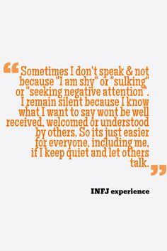 INFJ experience