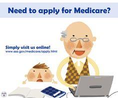 Applying for Medicare? Visit #SocialSecurity online http://www.ssa.gov/medicare/apply.html