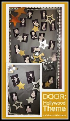 Hollywood Theme for Classroom Door Decoration