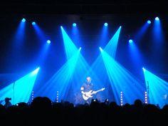 blau, Konzert