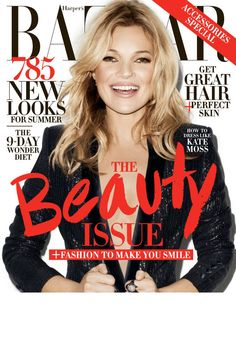 Your first look at our May cover girl, Kate Moss! Get a first look (and pre-order) her new Topshop collection here!