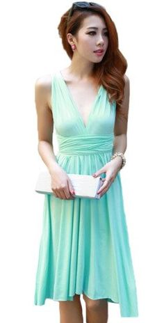 4b4c22de0c29c Amazon.co.jp  miki-421.42-1グリーン 並行輸入品  ( パーティ ドレス) パーティドレス ロングドレス ドレス 白 ドレス  結婚式 ボリューム ウェディングドレス ...