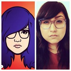 Cartoon Yourself with iMadeFace Self-Portraits #iphoneography #instagram