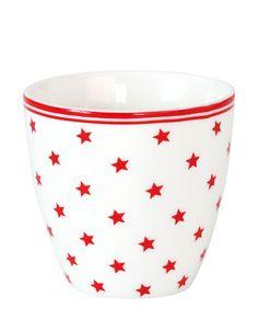 Small Star Latte Cup white mini von Greengate