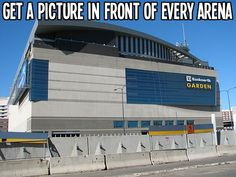 Get a picture in front of every #NHL Arena - Hockey Bucket List