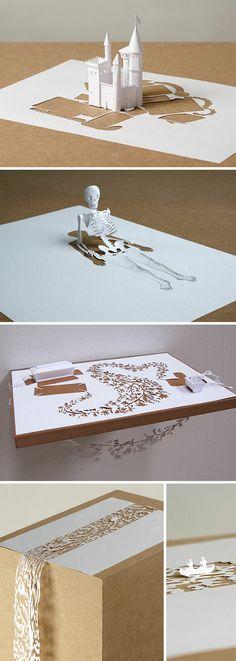 Mon carnet: artist: peter callesen- paper can be amazing