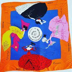 #scarf #lacroix #theatre https://www.etsy.com/it/listing/482202344/christian-lacroix-foulard-vintage