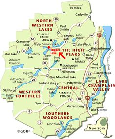 tupper lake ny | You really can't get much more centrally located than Tupper Lake.