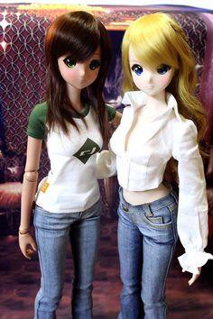 Smart Doll Ebony and Kizuna Yumeno by Antheia8