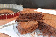 Gâteau au yaourt et au chocolat, sans sucre ni beurre